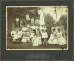 Group Picture of Bushnell Residents early 1900s