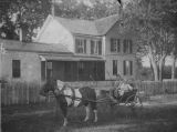 Children in Pony Drawn Cart at Clarence Pittinger Farm
