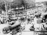 Circus Parade on Macomb Square 1934