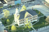 Aerial View of Macomb Square early 2000s
