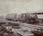 Railroad Short Train circa 1905