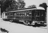 Passenger Railroad Car early 1900s