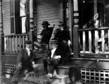 Unidentified Family on Porch