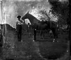 Unidentified Men with Horse