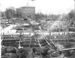 Construction of Simpkins Hall 1930