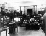 Library in Sherman Hall circa 1930