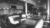 Library Reading Room in Sherman Hall circa 1932