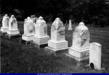 Hammond tombstones Pennington Point Cemetery 2002 McDonough County