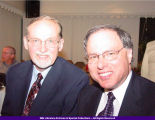 President Goldfarb and John Hallwas 2004