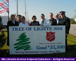 Tree of Lights Fundraiser 2001