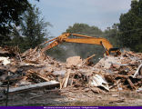 Demolition of Gwendolyn Brooks Cultural Center 2000