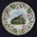 China Plate Depicting Good Hope United Methodist Church