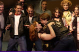 Scene from the musical Grease