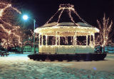 Chandler Park Gazebo with Christmas Lights