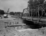 Highway 67 Construction over Lamoine River