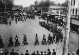 Macomb East Side Square Parade  c. 1890s