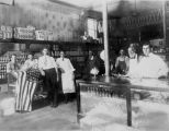 Empey Grocery and Meat Market Employees 1915