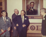 McDonough County Courthouse Ribbon Cutting c. 1973