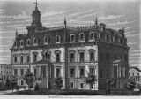 McDonough County Courthouse Lithograph 1871