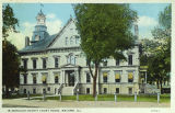 McDonough County Courthouse Postcard