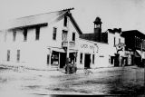 Simmers Meat Market and Jack Hall c. 1900