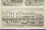 Macomb West Side Square Lithograph 1871