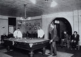 Peoria State Hospital Patients Playing Pool c. 1905