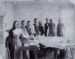Peoria State Hospital Doctors and Nurses with Patient