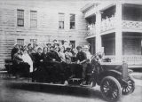 Peoria State Hospital Group In Car