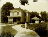 Unidentified Mercer County Residence and Child