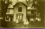 Unidentified Mercer County Residence and Family