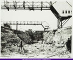 Keokuk Lock and Dam Construction c. 1911