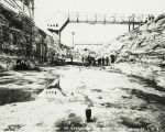 Keokuk Lock and Dam Construction