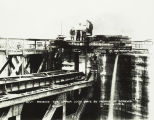 Keokuk Lock and Dam Construction 1913