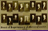Mercer County Board of Supervisors 1915