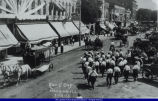 East Side of the Square Elks' Day Parade July 16, 1913