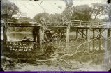 Bustard Bros. Engine Wreck at Swan Lake Bridge