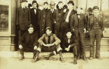 Aledo City Hall  Colchester Residents c. 1915