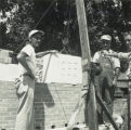 Colchester Grade School Construction Cornerstone 1955