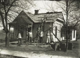 Colchester Unidentified Residence Roof Work 1934