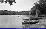 Spring Lake with Boats  circa 1930