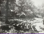 WISNS Outdoor Theater in Ravine c. 1913