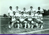 WIU Football Defensive Line 1981