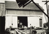004516.JPG Men Building or Moving Barn
