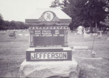 Jefferson, W.T. and R.B. and Children in Mt. Auburn Cemetery 2004