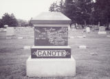 Canote, Martin and Nancy Jane in Mt. Auburn Cemetery 2004