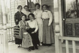 Carson Women on Porch 1912