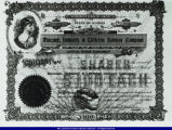 Macomb, Industry, and Littleton Railway Company Share Certificate