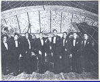 Al Sears in group picture with musicians