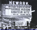 Big Al Sears Orchestra at Newark Theater